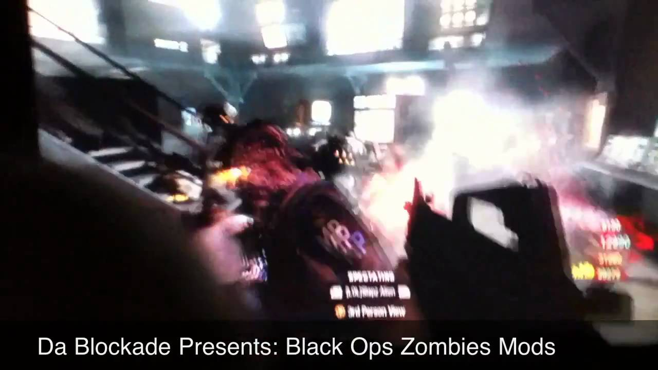 Black Ops: Zombie Mods - YouTube