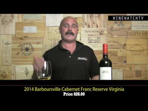 What I Drank Yesterday  Virginia Wine Barboursville - click image for video