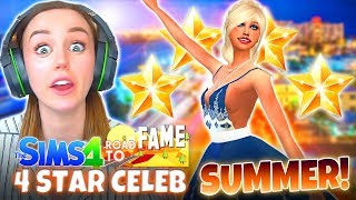 SHE MADE IT!? 🥳 (The Sims 4 ROAD TO FAME #11!🤩)