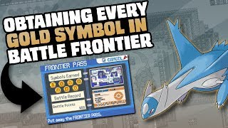 HOW EASILY CAN YOU GET EVERY GOLD SYMBOL IN POKEMON EMERALD'S BATTLE FRONTIER?