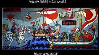 Cherbourg : le peintre Judikahel expose  sa propre tapisserie de Bayeux sur Guillaume le ...