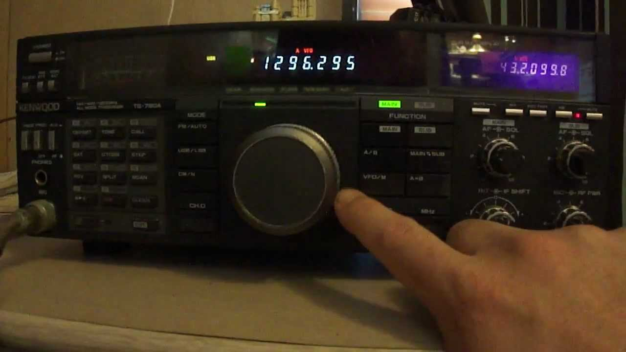 Kenwood TS-790A Ham Radio with 1,2Ghz Installed All mode satellite rig