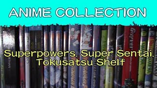 ANIME DVD/BLU RAY COLLECTION 2018 | Superpowers, Super Sentai, Tokusatsu Shelf thumbnail