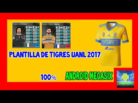 Plantilla De Tigres Uanl 2017 Dream League Soccer Android