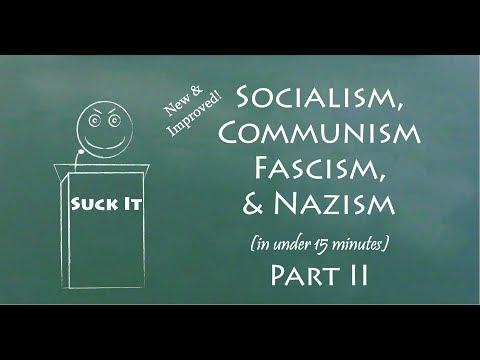 Understand Socialism, Communism, Fascism, & Nazism in 15 Minutes (Part II)