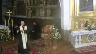 Misje parafialne - nauka dla VII LO w Tarnowie, 12 września 2017, godz. 10.00