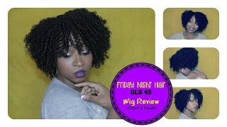 HOW TO CUT,  SHAPE & STYLE CURLY WIG | FRIDAY NIGHT HAIR GLS45 | (Start to finish) ☆ | SamoreLoveTV