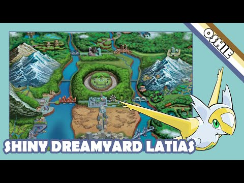 Live Shiny Dreamyard Latias In White 2 - 652 SRs! [Capture Card]