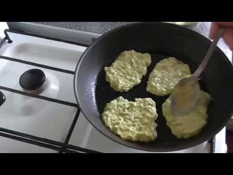 Кабачковые оладьи  Простой рецепт приготовления
