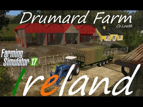 CROPS ARE GROWING / Fs17 / Seasons Mod / Drumard Farm: Episode 6