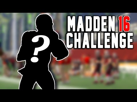 Mystery Quarterback Kick Return! Kick Returning With Quarterbacks! - Madden 16 NFL Challenge!