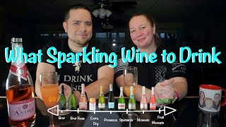How to decide which Sparkling Wine (Champagne) to drink or toast with, even if you do not like wine.