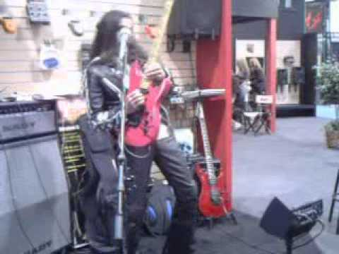 """Ethan Brosh """"Night City"""" From """"Out of Oblivion"""" Live at Nady 2010 Namm"""