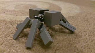 как сделать лего паука (how to make lego spider)