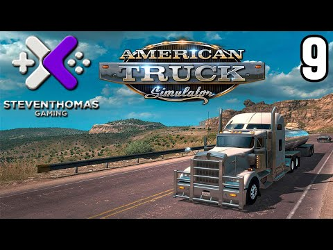 American Truck Simulator Gameplay w/ SKS Plays - Part 9 - Go