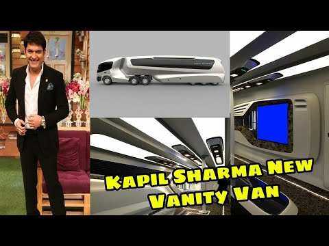 Kapil Sharma New Vanity Van | Interior Video |Bollywood Shaukeen