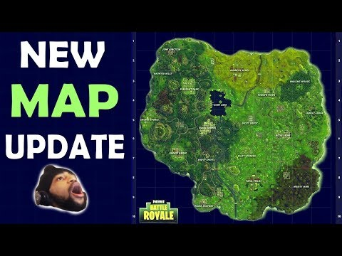 NEW MAP UPDATE | ALL POINTS OF INTEREST | EPIC GAMEPLAY & EXPLORATION - (Fortnite Battle Royale)