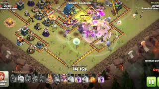 Max TH11 took down max TH12 defence