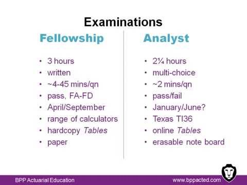 Certified Actuarial Analyst vs. Fellowship