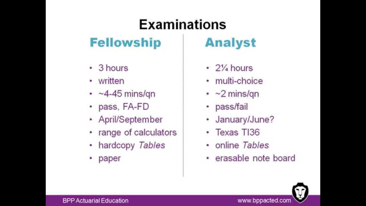 Certified Actuarial Analyst Vs Fellowship Youtube