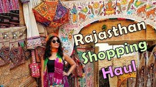 Rajasthan Shopping Guide and Shopping Haul | Jodhpur | Jaisalmer