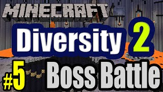 Tackle⁴⁸²⁶ Minecraft Custom Map - Diversity 2 (Boss Battle - Boss อันโหดเหี้ยม) #5