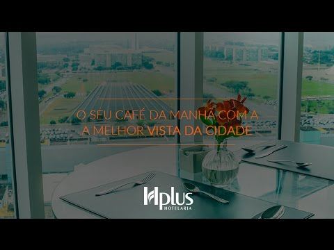 Vista incrível de Brasília :: Hotel Saint Moritz Hplus Express