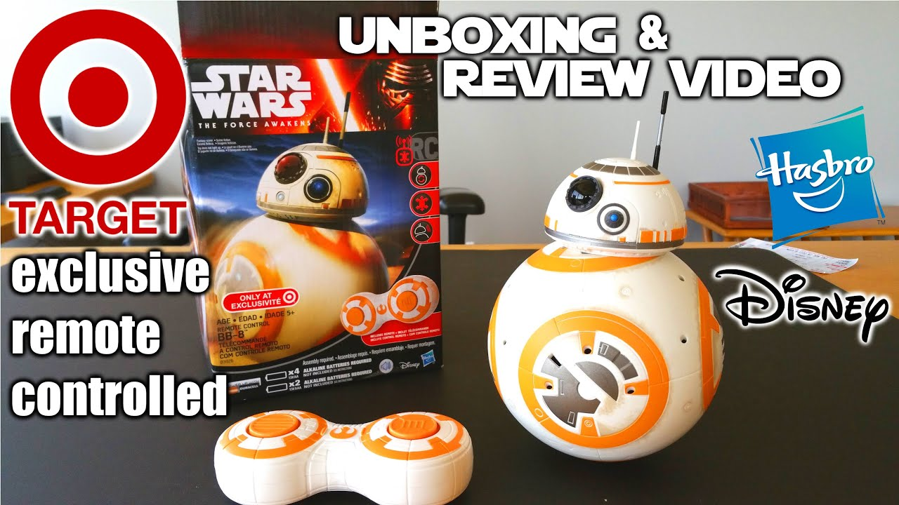 ... rc BB-8 DROID unbox, build & review - THE FORCE AWAKENS!!! - YouTube