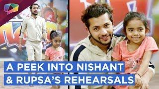 Nishant And Rupsa's Rehearsal Session | Super Dancer 3 | Sony Tv