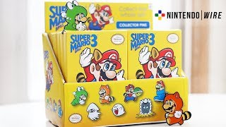 Super Mario Bros. 3 Collector Pins | Opening an Entire Box of 12