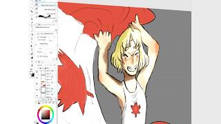 【APH】 🍁 Happy Canada Day! 🍁 【Speed Draw】