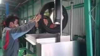 タイヤソニック、ホイル洗浄機、タイヤ洗浄機.
