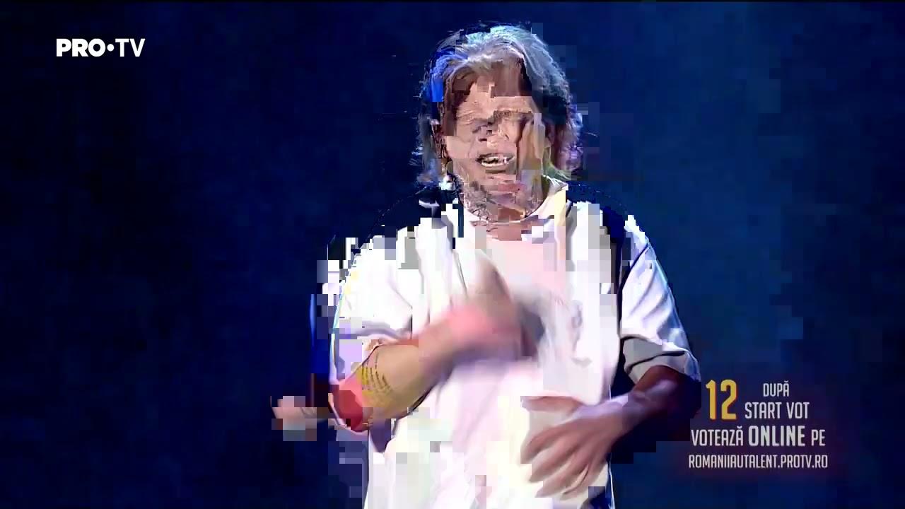 Românii au talent 2021: Finala (prestaţie) – Gim – solist vocal