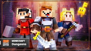 OS PRO-PLAYERS mais NOOBS no Minecraft Dungeons!