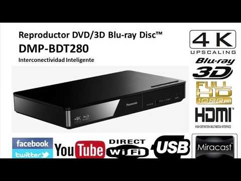 Unboxing Blu-ray  Panasonic Bdt280