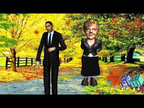 Barak Obama & Angela Merkel-Du hast mich 1000 mal belogen