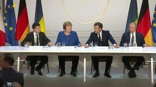 Умови транзиту газу обговорили Зеленський і Путін у Парижі