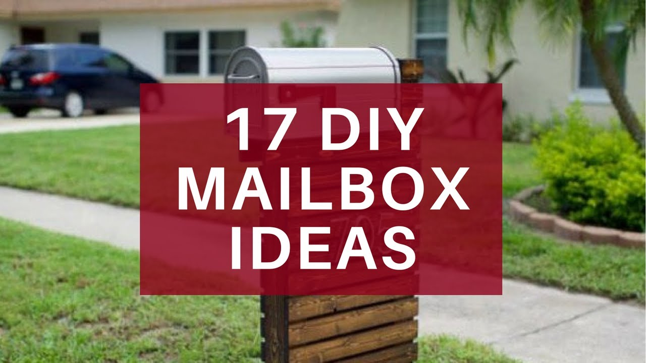 design ideas mailbox decor watch youtube garden decorations