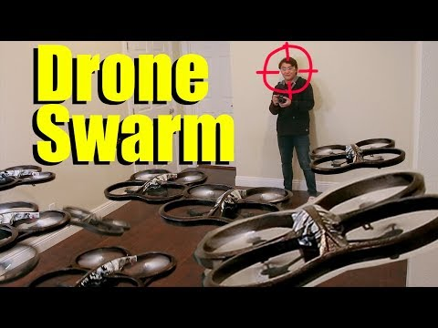 Head Hunting Drone Swarm