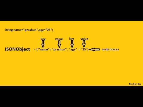 json tutorial for beginners in java - YouTube