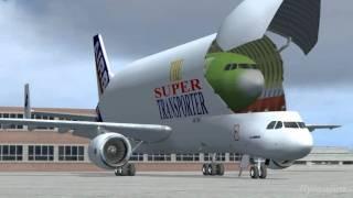 AIRBUS - A Day at Hamburg FSX