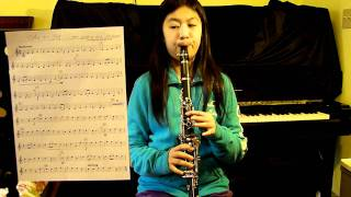 Ode To Joy ( Ludwig van Beethoven ) Clarinet  -  Moderato, from Symphony No.9