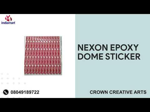 Epoxy Sticker &