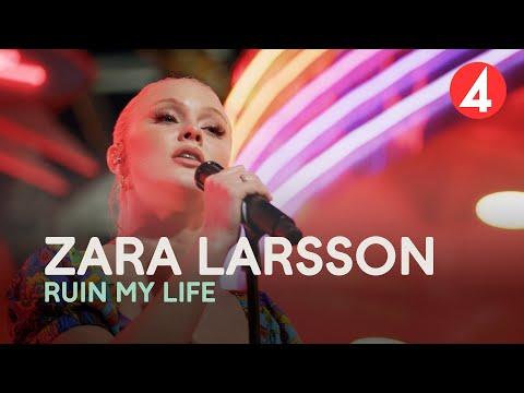 Zara Larsson - Ruin My Life - 4K (Late Night Concert) - TV4