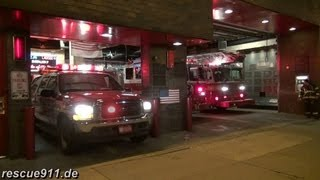 Battalion 9 + Engine 54 + Ladder truck 4 FDNY