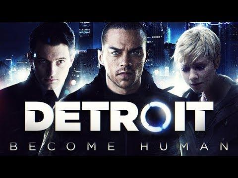 Фильм Детройт: Стать Человеком [60 FPS] (Detroit: Become Human игрофильм)