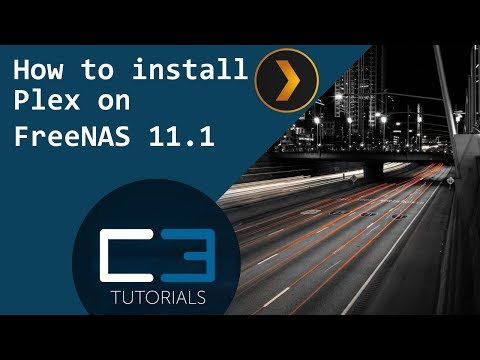 How to install Plex on FreeNAS 11 1 - Ceos3c