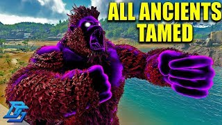 ALL ANCIENTS TAMED IN ONE EPISODE?!?  - ARK:Survival Evolved - ARK Eternal - Part 14
