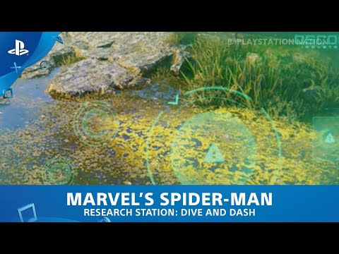 Marvel's Spider-Man (PS4) - Research Station - Dive And Dash
