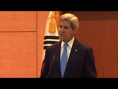 Kerry slams North Korea provocations, 'grotesque' abuses